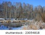 winter river. | Shutterstock . vector #23054818