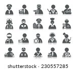 occupation icons | Shutterstock .eps vector #230557285