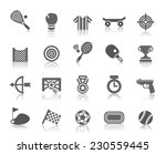 sport competition icons | Shutterstock .eps vector #230559445