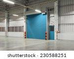 roller shutter door and... | Shutterstock . vector #230588251
