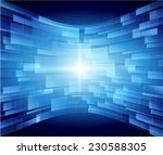 blue technology background... | Shutterstock . vector #230588305
