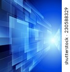 blue technology background... | Shutterstock . vector #230588329