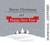 christmas background  | Shutterstock .eps vector #230593885