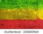 grunge rasta flag as a...   Shutterstock . vector #230600464