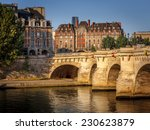 paris at dawn. pont neuf across ... | Shutterstock . vector #230623879