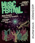 event poster template  symphony ... | Shutterstock .eps vector #230642209
