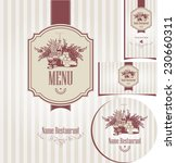set of elements for design... | Shutterstock .eps vector #230660311