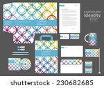 colorful circle corporate... | Shutterstock .eps vector #230682685