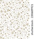 golden stars background   vector | Shutterstock .eps vector #230689921