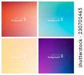 abstract colorful smooth... | Shutterstock .eps vector #230701465
