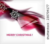 purple color christmas blurred... | Shutterstock . vector #230704177