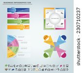 vector infographic template  ... | Shutterstock .eps vector #230710237