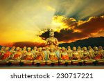 Golden Buddha Statue In...