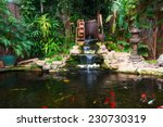 Natural Decorative Pond With...