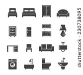 furniture icon   Shutterstock .eps vector #230738095