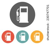 gas pump icon | Shutterstock .eps vector #230747701
