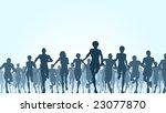 editable vector illustration of ... | Shutterstock .eps vector #23077870