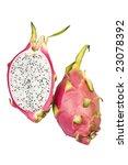 fresh dragon fruit  pitaya or... | Shutterstock . vector #23078392