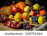 Still Life Harvest Festival Of...