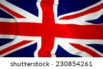 union jack   flag of great... | Shutterstock . vector #230854261