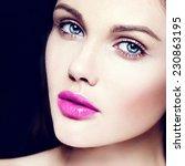 high fashion look.glamor... | Shutterstock . vector #230863195