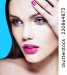 high fashion look.glamor... | Shutterstock . vector #230864875