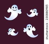 four ghost | Shutterstock .eps vector #230880985