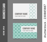 corporate identity   business... | Shutterstock .eps vector #230885887