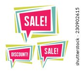 sale and discount abstract... | Shutterstock .eps vector #230902615