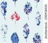 fingerprint pattern from the...   Shutterstock .eps vector #230918434
