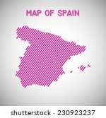 map of spain. transparency... | Shutterstock .eps vector #230923237
