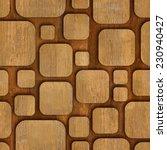 geometric wooden blocks  ... | Shutterstock . vector #230940427