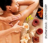 adult woman in spa salon having ... | Shutterstock . vector #230943289