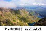 snowdon summit landscape