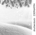 winter background | Shutterstock . vector #230964994