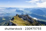 Amazing View Of Lake Lucerne...