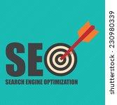 search engine optimization  seo ... | Shutterstock . vector #230980339