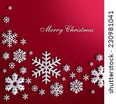 christmas card | Shutterstock . vector #230981041