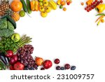 healthy eating background  ... | Shutterstock . vector #231009757