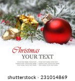 christmas or holiday background ... | Shutterstock . vector #231014869