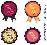 vector promo label for best... | Shutterstock .eps vector #231018619