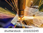 industrial welding automotive... | Shutterstock . vector #231023245