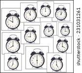 alarm clocks | Shutterstock . vector #231031261