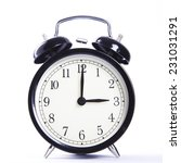 alarm clock  | Shutterstock . vector #231031291