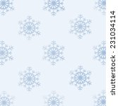background of  snowflakes in... | Shutterstock . vector #231034114