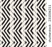 seamless geometric pattern.... | Shutterstock .eps vector #231036211