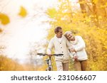 active senior couple together... | Shutterstock . vector #231066607