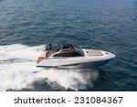 motor yacht  rio yacht  fast... | Shutterstock . vector #231084367