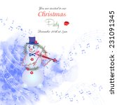 Christmas Invitation With...