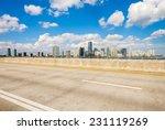Beautiful Miami Skyline Along...